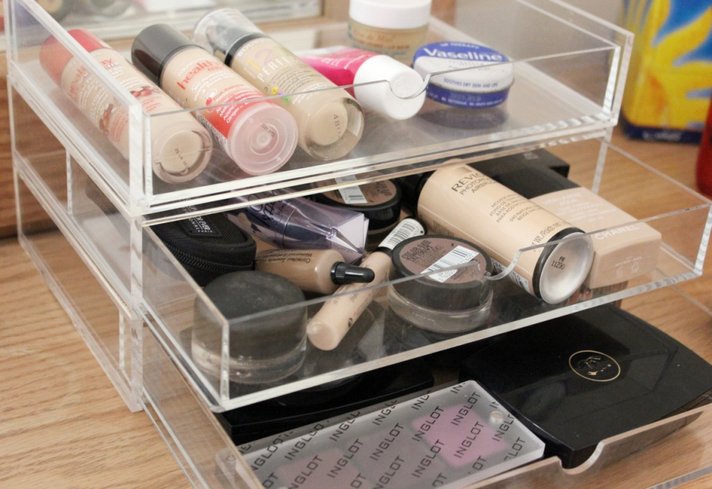 Itu0027s perfect for storing ... & Simone Loves Makeup - Storage Fun - Muji u0026 IKEA | Simone Loves Makeup