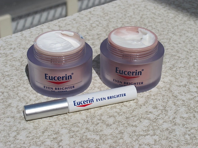 simone loves makeup eucerin even brighter range. Black Bedroom Furniture Sets. Home Design Ideas