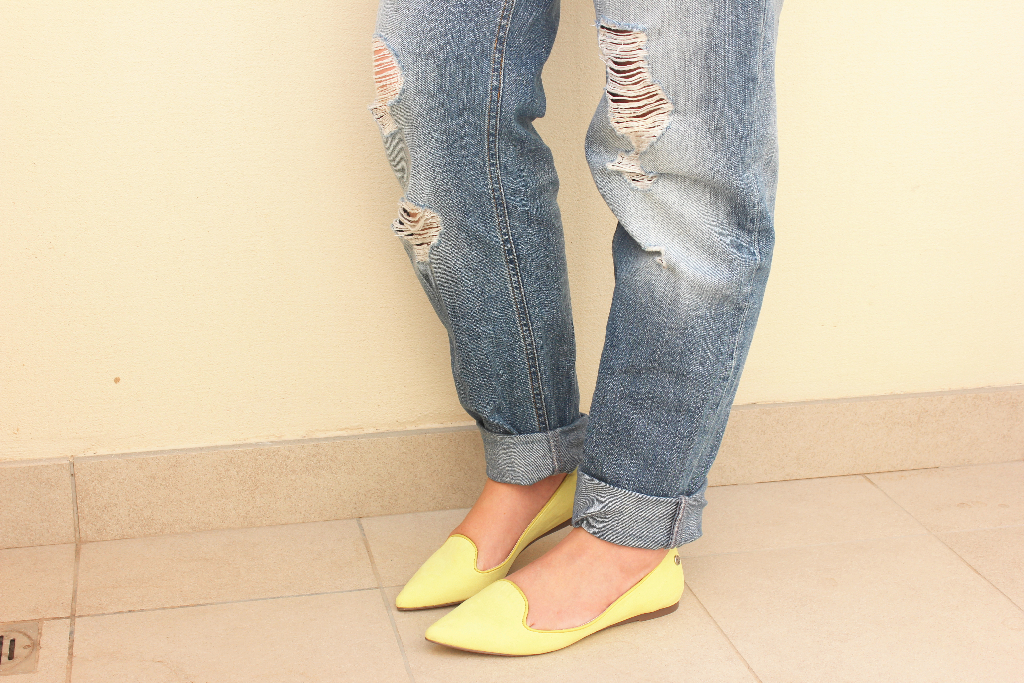 Blink flat pointed slipper shoes