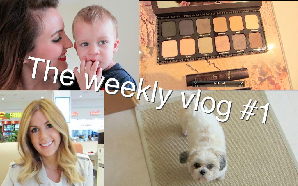 The weekly vlog