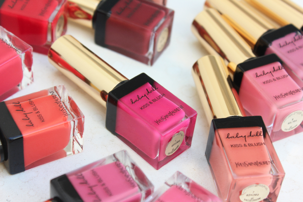 YSL Kiss and blush