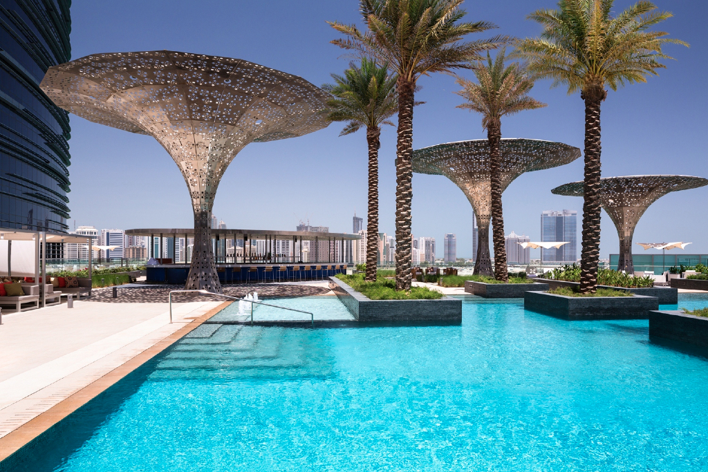 Rosewood Abu Dhabi Swimming Pool