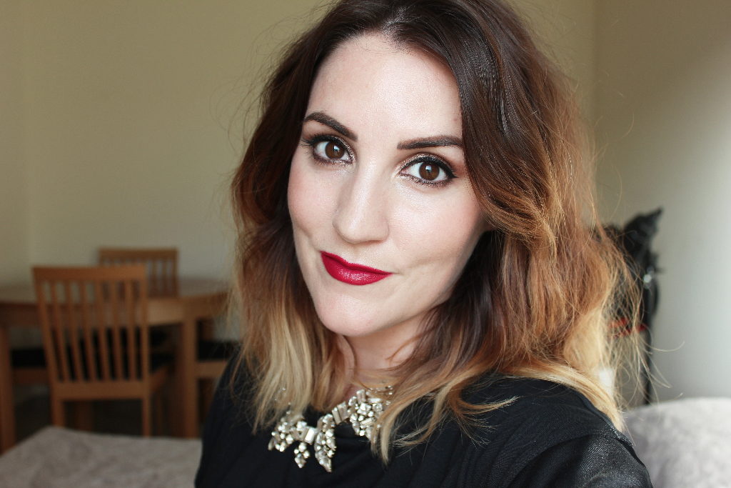 Nars Audacious Lipstick Swatch Vera