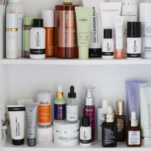 The Skincare List - Skincare Shelfie Simone Scribes